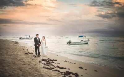 Wedding at Dreams Tulum Resort