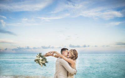 Wedding photos at Secrets The Vine Cancun