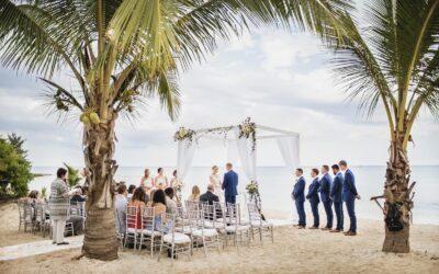 Wedding photos at Corasol Beach Club