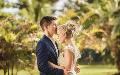Wedding photos at The Fives Azul Beach