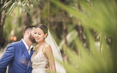 Wedding photos at Papaya Playa Project, Tulum