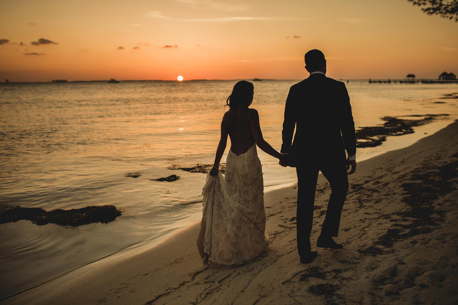 Wedding at Zama Beach Club, Isla Mujeres