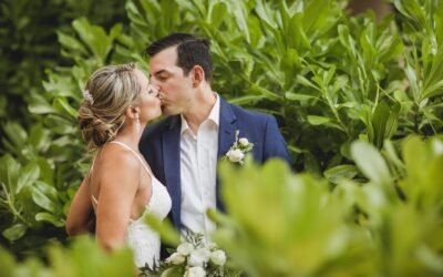 Wedding photos at Dune Tulum Hotel