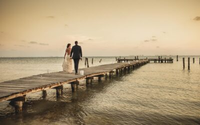 Wedding at Zama Beach Club, Isla Mujeres