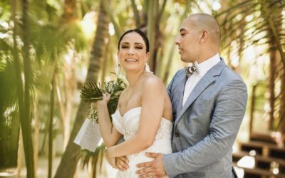 Wedding photos at Sanara & Akiin Beach Tulum