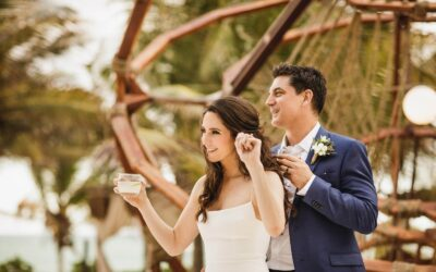 Wedding photos at Selina & Mia Tulum