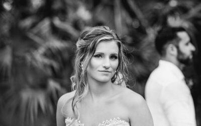 Wedding photos at Dreams Riviera Cancun