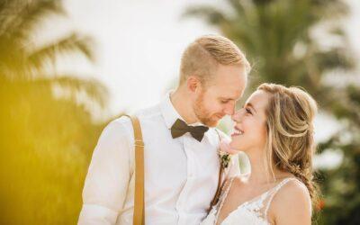 Wedding photos at Finest Playa Mujeres, Cancun