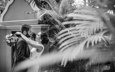 Wedding photos at Casa Buena Suerte, Soliman Bay