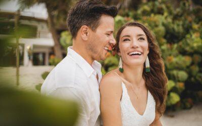 Wedding photos at Casa Carolina & Wild Tulum