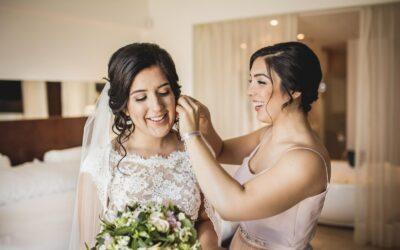 Wedding photos at Live Aqua Beach, Cancun