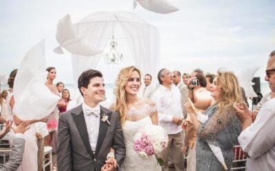 Wedding at Grand Velas, Playa del Carmen
